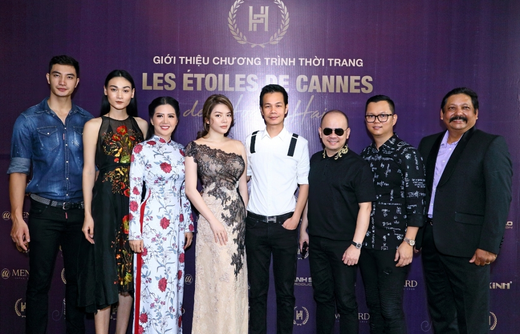 The Vietnamese fashion show in Cannes will overwhelm Fan Bingbing