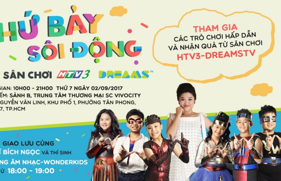 thu bay soi dong voi san choi htv3 dreams tv