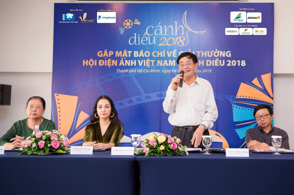 le trao giai thuong hoi dien anh viet nam canh dieu 2018 duoc to chuc tai thanh pho ho chi minh