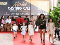 asian kids fashion week 2019 khoi dong thu hut hang tram mau nhi casting