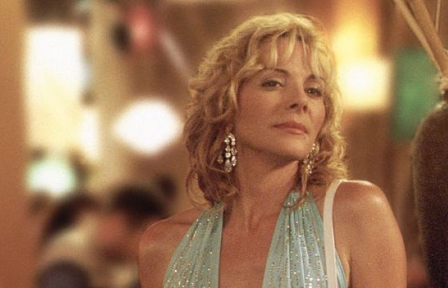 kim cattrall gioi thieu nguoi thay minh trong sex and the city phan 3